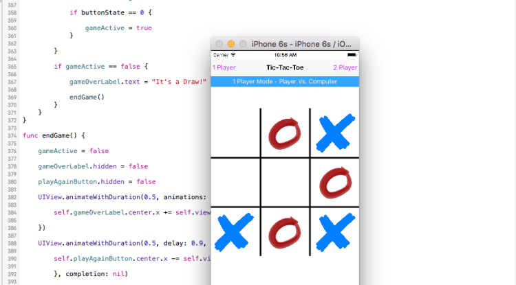 Tic-Tac-Toe for iPhone!